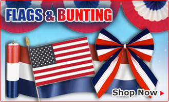 Flags u0026 Bunting  sc 1 st  Cool Glow : patriotic party decorating ideas - www.pureclipart.com