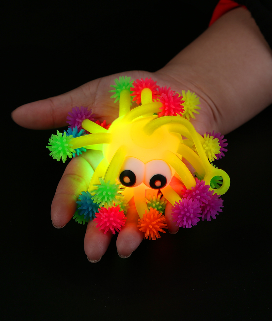 Led rainbow tentacle ball coolglow mouse over product image to zoom publicscrutiny Gallery