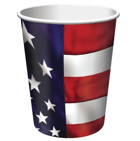 Tableware4th of July · US Pride 9 Oz HotCold Cup  sc 1 st  Cool Glow & 4th of July Tableware : Tableware : Party Supplies - Coolglow.com
