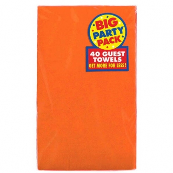 Orange Peel Big Party Pack 2-Ply Guest Towels 40ct