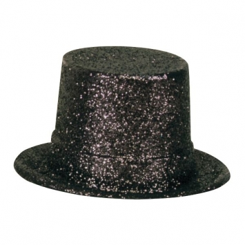 Black Hollywood Top Hat