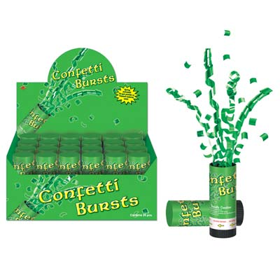 St Patrick's Day Confetti Bursts