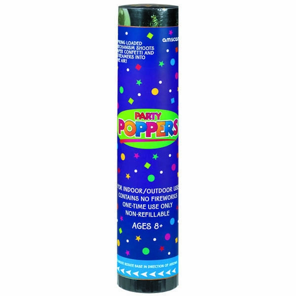 Confetti Party Poppers-Large