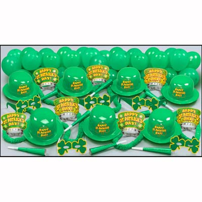 Irish Eyes Party Pack for 50 People