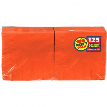 Orange Peel Big Party Pack Luncheon Napkins