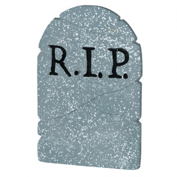 R.I.P. Tombstone 22 in.