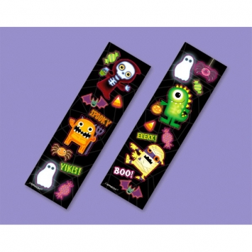 Boo Crew Printed Sticker Strip 8ct