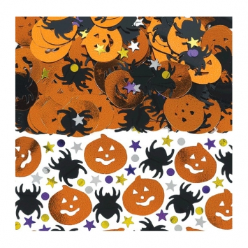 Halloween Metallic Foil Confetti Mix 2.5 oz.