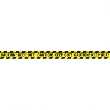 Halloween Value Plastic Caution Tape 20 ft