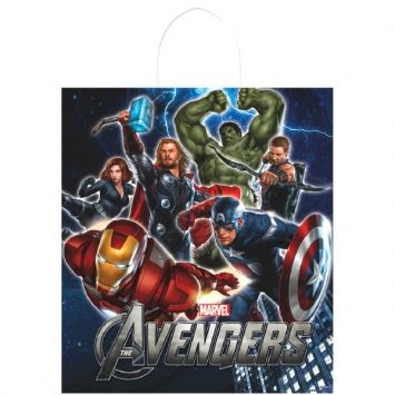 The Avengers Plastic Handle Treat Bags