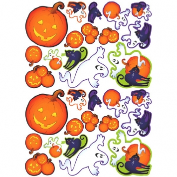 Cute Characters Printed Paper Cutouts 30ct