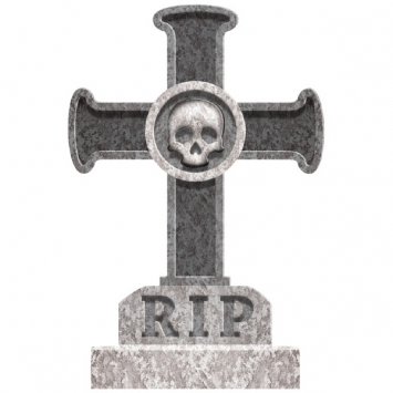 Cross Tombstone 22 in.