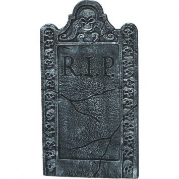Skull Crypt Tombstone 36 in.