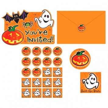 Scared Silly Invitations 20ct