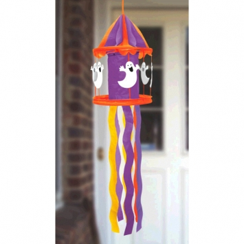 Halloween Nylon Wind Mobile 52 in.