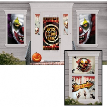 Creepy Carnival Scene Setter Mega Value Decorating Kit