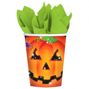 Perfect Pumpkin 9 oz. Cups 8ct