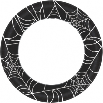Spider Web Value 8.5 Inch Plates 100ct
