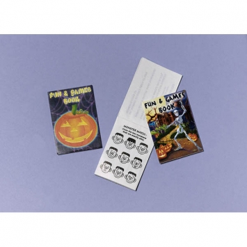 Halloween Activity Pad 12ct