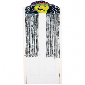 Witch Decorative 4.5 ft Foil Curtain