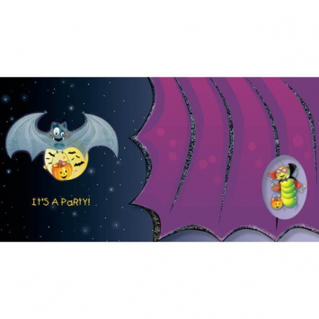Goofy Bat Tiny Twinkler Invitation 8ct
