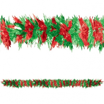 Christmas Starburst Tinsel 9ft x 15in