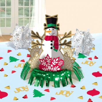 Christmas Fringe Centerpiece Kit