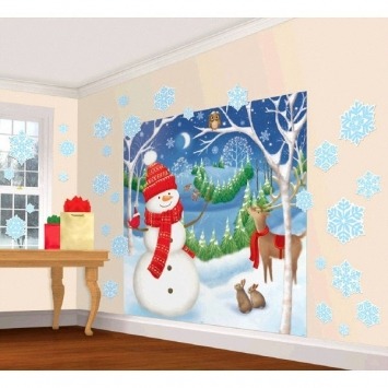Winter Friends Scene Setters Decorating Kit