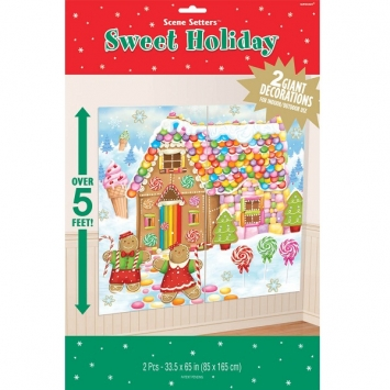 Sweet Holiday Scene Setters Plastic Add-Ons