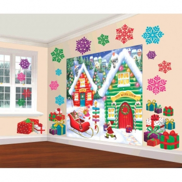 North Pole Scene Setters Decorating Kit
