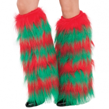 Elf Furry Leg Warmers