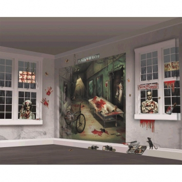 Asylum Scene Setters Mega Value Wall Decorating Kit