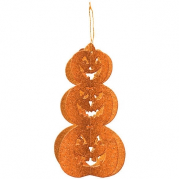 3-D Pumpkin Decoration 11.5 in.