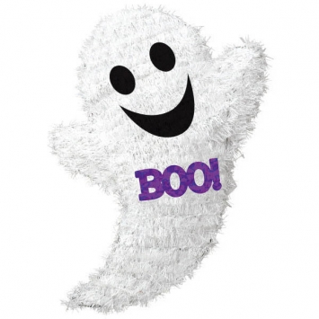 Ghost Tinsel Decoration 16.5 in.