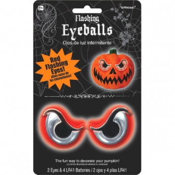 Flashing Pumpkin Eyeballs Light