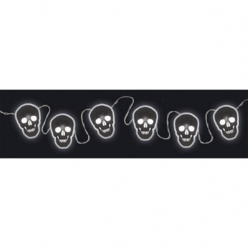 LED Lights with Printed Skull Reflectors 70