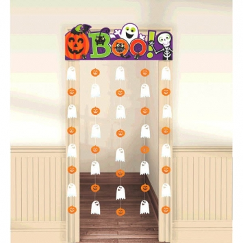 Halloween Family Friendly Doorway Curtain