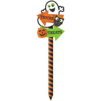Pumpkin Yard Sign 21.5 in.