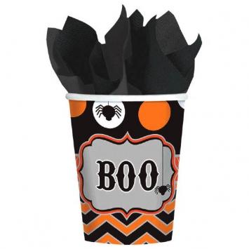 Modern Halloween Cups 8ct