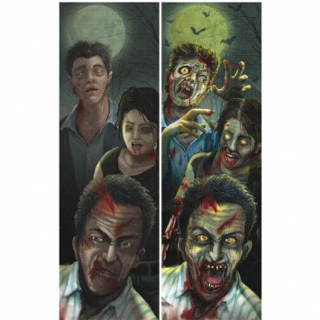 Zombie Lenticular Sign 37 in.