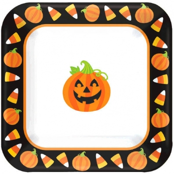 Tricks & Treats Value Pack 7 Inch Plates 40ct