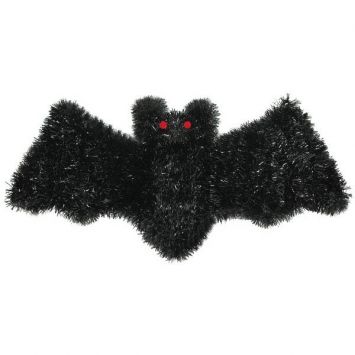 Bat Tinsel Decoration 18 in.