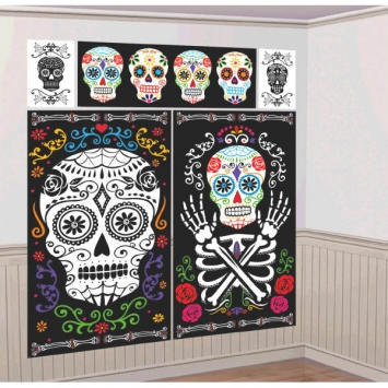 Black & Bone Scene Setters Wall Decorating Kit
