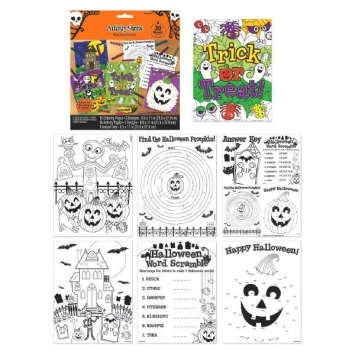 Halloween Coloring Sheets 31ct
