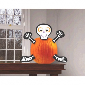 Skeleton Pumpkin Decorating Kit 5 pcs