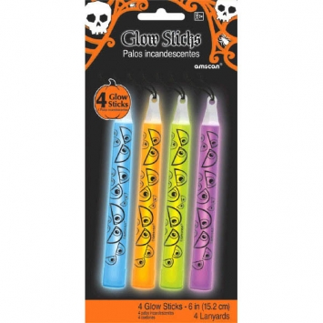 Halloween Glow Stick Assorted Necklaces - Neon