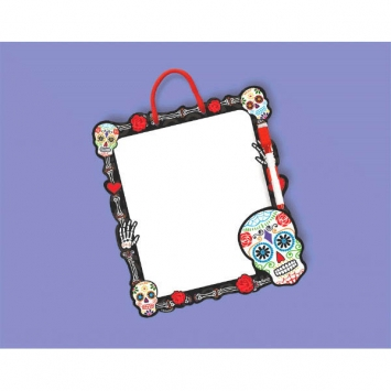 Day of the Dead Die-Cut Dry Erase Board