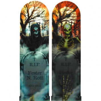 Spooky Lenticular Sign 37 in.