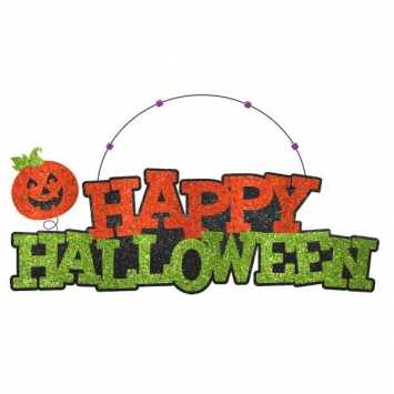 Happy Halloween Large Sign 15 in.