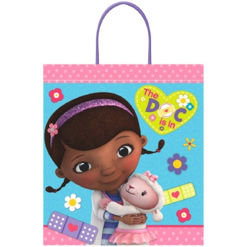 Disney Doc McStuffins Plastic Handle Treat Bag